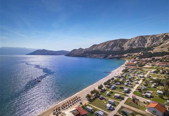 Kemp Bunculuka_karavany Cool Adria - Chorvatsko