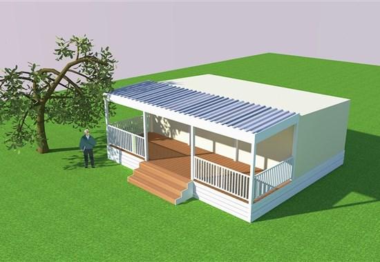 Kemp Park Soline, mobilní domy -