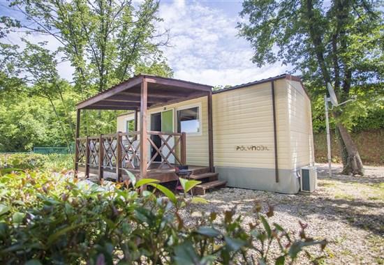 Kemp Zelena Laguna, mobilní domy -