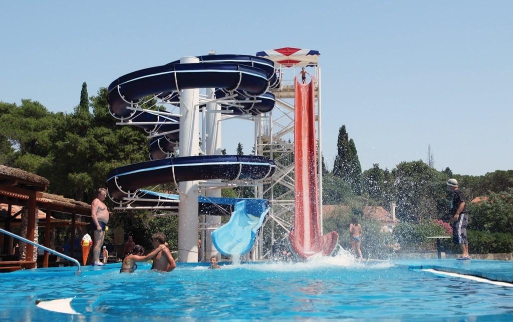 Kemp Park Soline_Zavírání moře, Biograd na Moru, Chorvatsko - Dalmácie