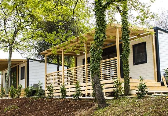 Kemp Zelena Laguna, mobilní domy - Poreč