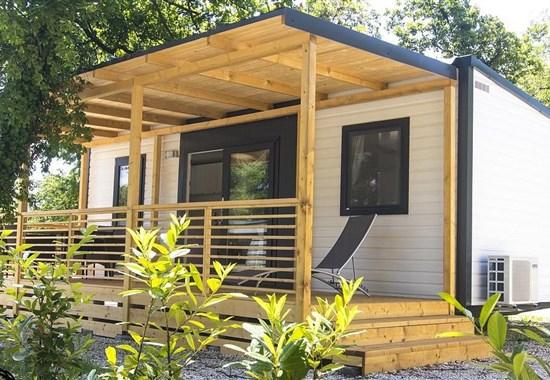 Poreč, Zelena Laguna, mobilní domy COMFORT -