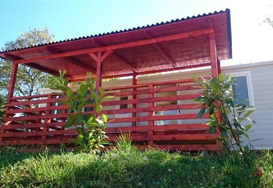 Kemp Zelena Laguna, mobilní domy Comfort ELBA - Poreč