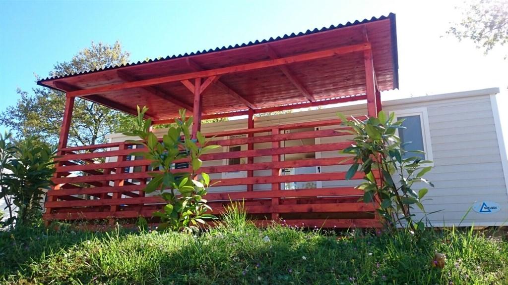 Kemp Zelena Laguna, mobilní domy PREMIUM -